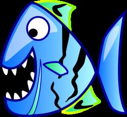Blue Fish Clip Art at Clker.com - vector clip art online, royalty ...