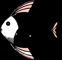 Drawn Fish Tropical Fish#3326099