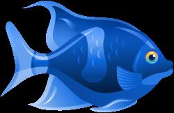 Blue Fish PNG Clip Art - Best WEB Clipart