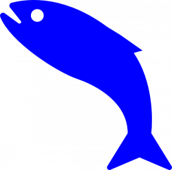 Blue Fish Clip Art at Clker.com - vector clip art online, royalty ...