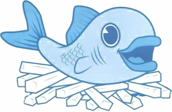 28+ Collection of Fish And Chips Clipart Black And White | High ...