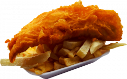 Clipart - Fish and chips