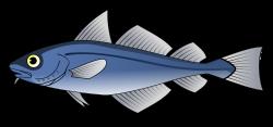 Clipart - Codfish