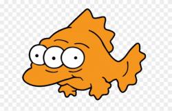 Fish Clipart Creepy - Sandycove, HD Png Download - 640x480 ...
