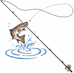Fishing Rod and Fish Want to find out fishing secrets that will help ...