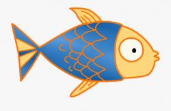 Fish Kids Clip Art - Cute Fish Bone Clipart #90223 - Free ...