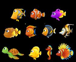 Turtle Fish Finding Nemo Seahorse - Nemo fish and turtle hippocampus ...