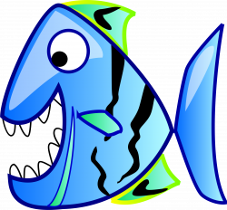 fish open mouth clipart - Clipground
