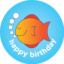 Collection of 14 free Fishes clipart happy birthday. Download on ubiSafe
