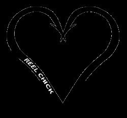 Heart Shaped Fishing Hook - Heart Hook Fishing Decal Sticker ...