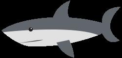 OnlineLabels Clip Art - Cartoon Shark