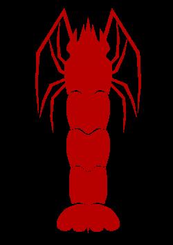 Clipart - Shrimp