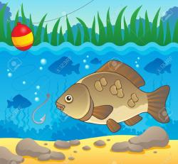 Fish Swim Cliparts - Cliparts Zone