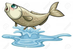 Fish in water clipart 2 » Clipart Station