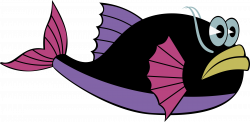 Clipart - Whale-Fish