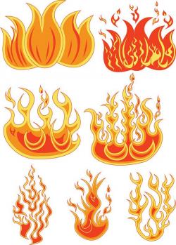 Fire SVG Files Fire Clipart Fire Dxf Files Flames Cricut ...