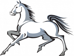 Free White Horse Clip Art and Poem | Pinterest | White horses, Clip ...