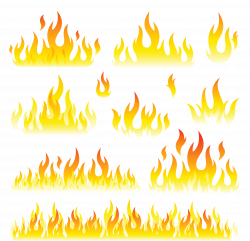28+ Collection of Flames Clipart Images | High quality, free ...
