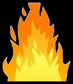 Fire Flames Clipart Trail Transparent Png - AZPng