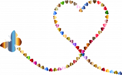 Butterfly Hearts Trail 3 Icons PNG - Free PNG and Icons Downloads