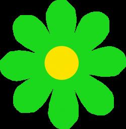 Bright Green Flower Clip Art at Clker.com - vector clip art online ...