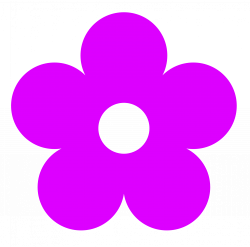 Purple Flower Clip Art   Clipart Panda - Free Clipart Images