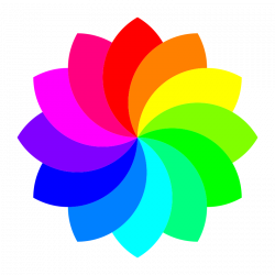 Free Rainbow Flower Cliparts, Download Free Clip Art, Free Clip Art ...