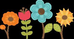 Flowers Set Of 4 SVG cut files for scrapbooking flower svg files ...