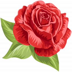 Red Vintage Rose PNG Clip Art   Gallery Yopriceville - High-Quality ...
