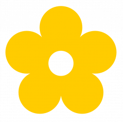 28+ Collection of Yellow Clipart Flower | High quality, free ...