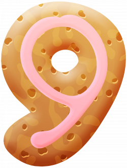 Biscuit Number Nine PNG Clipart Image | Gallery Yopriceville - High ...