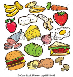 Healthy Food Free Clipart