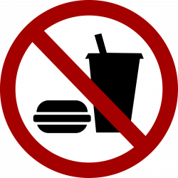 No Food Or Drink Clipart Group (52+)