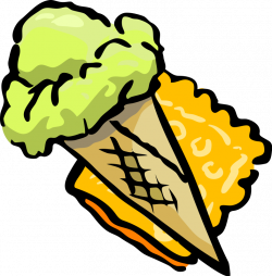 Clipart of Cookies, Candies and Ice Cream