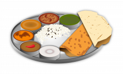 28+ Collection of Plate Of Indian Food Clipart | High quality, free ...
