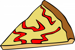 Clipart - Fast Food, Snack, Pizza, Cheese