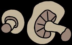 Clipart - mushrooms