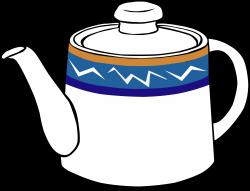 Clipart - Fast Food, Drinks, Tea, Pot