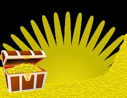 Clipart - Pile of Treasure
