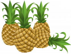 Clipart - Food Pineapple