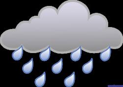 Little Rain Cloud 2 Clip Art - Sweet Clip Art