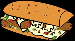 Public Domain Clip Art Image | Fast Food, Breakfast, Sub Sandwich ...