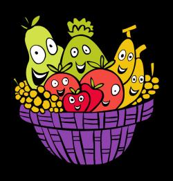Fruit And Vegetables Basket | Free download best Fruit And ...