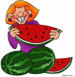 Food Clip Art by Phillip Martin, Watermelon