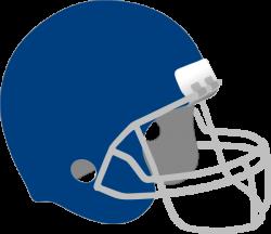 Dark Blue Football Helmet Clip Art at Clker.com - vector clip art ...