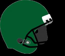 Green Football Helmet Clip Art at Clker.com - vector clip art online ...