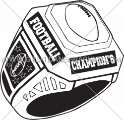Football clipart ring ~ Frames ~ Illustrations ~ HD images ~ Photo ...