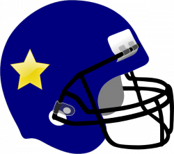 Football Helmet-star On It Clip Art at Clker.com - vector clip art ...