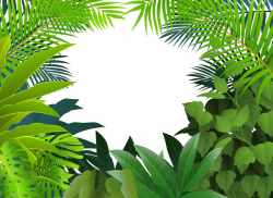 Tropical rainforest Jungle Tropics Clip art - Yin green grass 658 ...