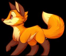 Little Fox by aki-ta on DeviantArt